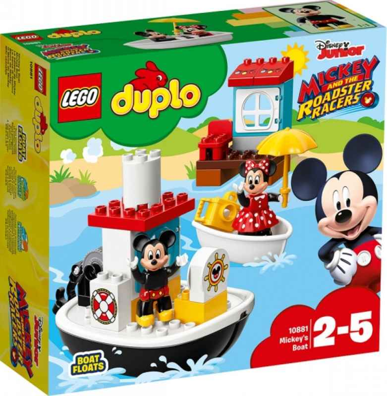 LEGO® DUPLO® 10881 Mickys Boot, 28 Teile 2-5 Jahre